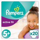 Pampers Active Fit S 5+ Carry 20 Nappies - 20s