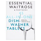 essential Waitrose 45 All in One Dishwasher Tablets - 810g
