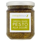 UniqueItalia green basil pesto alla ligure