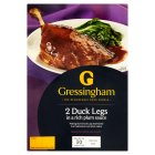 Gressingham 2 duck legs in plum sauce - 400g