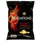Walkers Sensations Thai sweet chilli sharing crisps - 150g Brand Price Match - Checked Tesco.com 20/07/2016