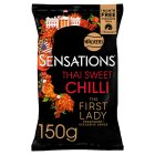 Walkers Sensations Thai sweet chilli sharing crisps - 175g