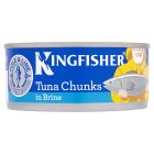 Kingfisher tuna chunks in brine - drained 112g