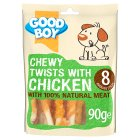 Good Boy chewy twists with chicken - 90g Introductory Offer