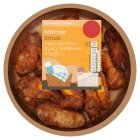 Waitrose roast chicken sticky barbecue wings - 350g
