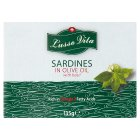 LV sardines in olive oil with basil