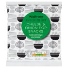 GOOD TO GO Cheese & Onion Pop Snacks -  New Line