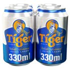 Tiger Beer - 4x330ml