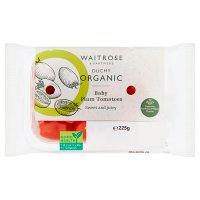 Waitrose Duchy Organic baby plum tomatoes