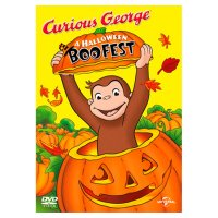 DVD Curious George A Halloween Boo