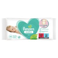 Pampers Complete Clean Baby Wipes Unscented Single Pack