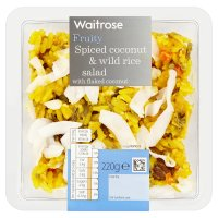 Waitrose Fruity Spiced Coconut & Wild Rice Salad