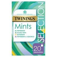 Twinings Mints Selection 20 Tea Bags