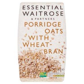 Essential Waitrose - Porridge Oats with Wheatbran