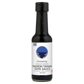Clearspring organic tamari soya sauce