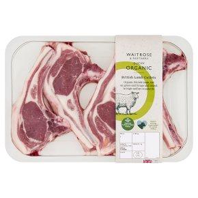 Waitrose Duchy Organic British Lamb Cutlets