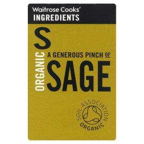 Waitrose Cooks' Ingredients organic sage