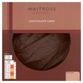 Waitrose Belgian chocolate cake