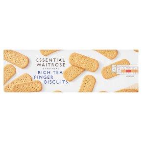 essential Waitrose rich tea finger biscuits