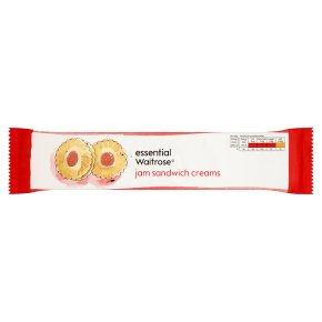 essential Waitrose jam sandwich creams