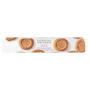 essential Waitrose rich highland shortie biscuits