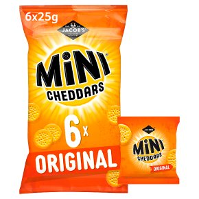 Jacob's Mini Cheddars Original 6s