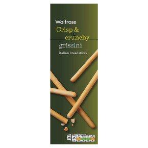 Waitrose plain grissini breadsticks