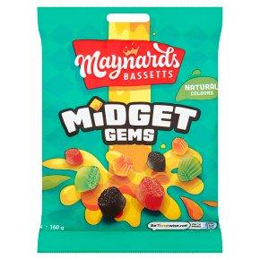 Maynards Bassets Midget Gems Sweets bag