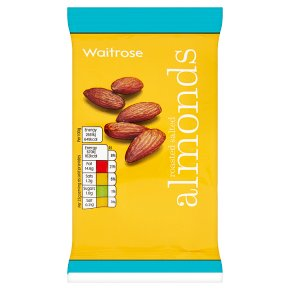 Waitrose roasted salted almonds