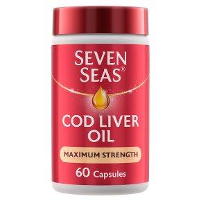 7 Seas extra high cod liver oil