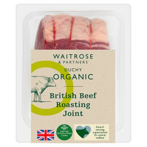 Duchy from Waitrose British Beef Roasting Joint