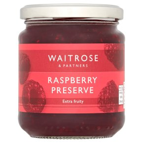 Waitrose raspberry conserve