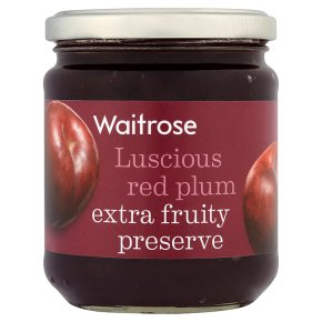 Waitrose red plum conserve