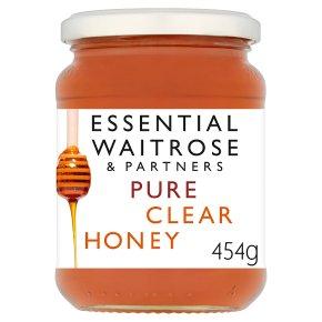 Essential Waitrose pure clear honey