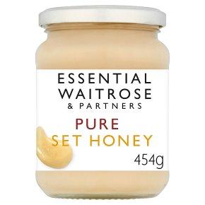 Essential Waitrose pure set honey