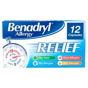 Benadryl Allergy Relief Acrivastine