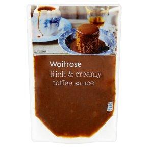 Waitrose Toffee Sauce