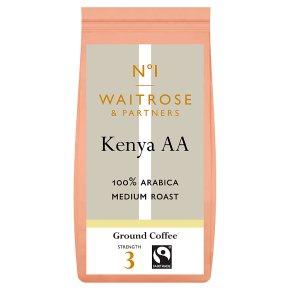 Waitrose 1 Kenya AA 100% Arabica coffee beans