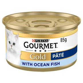 Gourmet Gold Tinned Cat Food Pate With Ocean Fish