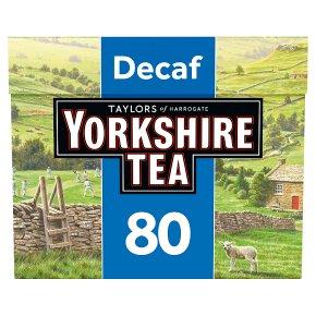 Taylors of Harrogate Yorkshire decaffeinated tea bags 80