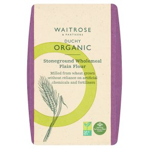 Waitrose Duchy Stoneground Plain Wholemeal Flour