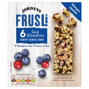 Jordans Frusli Bars Blueberry