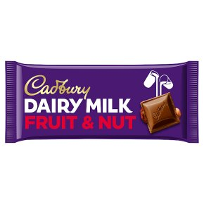 Cadbury Dairy Milk fruit & nut chocolate bar