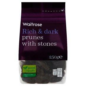 Waitrose dried stone in prunes