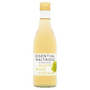 essential Waitrose white wine vinegar