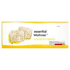 essential Waitrose custard cream biscuits