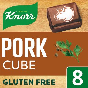 Knorr 8 pack pork stock cubes