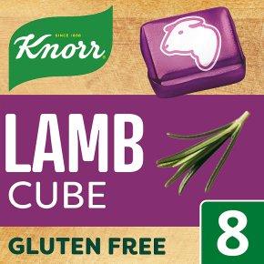 Knorr 8 pack lamb stock cubes