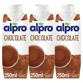 Alpro soya flavour shake chocolate