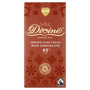 Divine Fairtrade Milk Chocolate